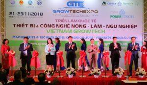 Trưng bày sản phẩm công nghệ Nông – Lâm – Ngư nghiệp tiên tiến tại Vietnam Growtech 2018