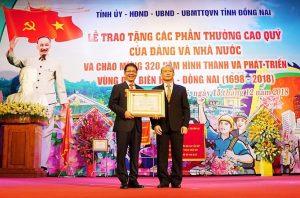 Thaco và chủ tịch HĐQT Trần Bá Dương nhận Huân chương Lao động hạng Nhất