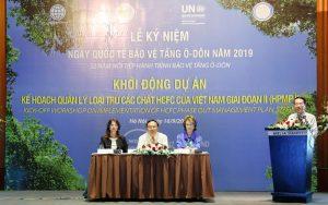Việt Nam nỗ lực chung tay cùng thế giới loại trừ các chất làm suy giảm tầng ô-dôn