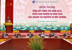 Hội nghị triển khai nhiệm vụ năm 2020 ngành Tài nguyên và Môi trường