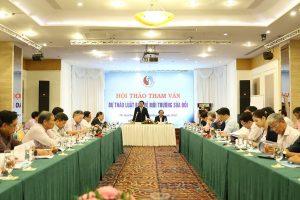 Hội thảo tham vấn Dự thảo sửa đổi Luật Bảo vệ môi trường khu vực phía Nam
