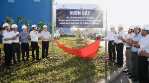 Nhà máy Nhiệt điện Vĩnh Tân 4: Hưởng ứng phong trào Tết trông cây năm 2021
