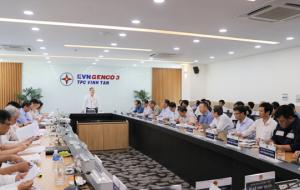 Đoàn giám sát Ủy ban KHCN&MT Quốc hội kiểm tra tại Trung tâm Điện lực Vĩnh Tân