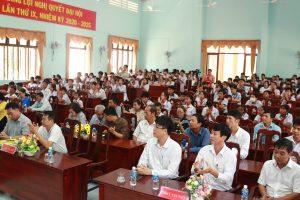 """Nhà máy Nhiệt điện Vĩnh Tân 4 trao 20 suất học bổng """" Tiếp bước cho em đến trường"""""""