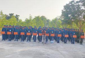 Vĩnh Tân 4: Trung đội tự vệ  giao lưu học hỏi kinh nghiệm, nâng cao thể lực, kỹ thuật, chiến thuật, sẵn sàng chiến đấu