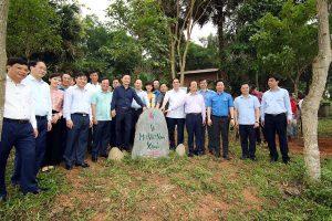 Đoàn Thanh niên Bộ TN&MT hưởng ứng Chương trình trồng 1 tỷ cây xanh