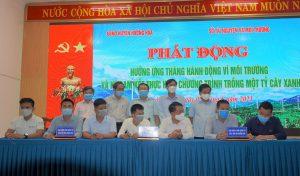 Quảng Trị cam kết hoàn thành mục tiêu trồng 1 tỷ cây xanh